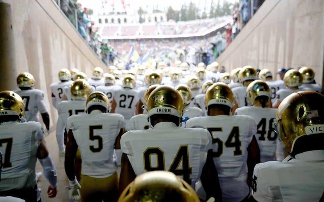Incluso después del aplazamiento la semana pasada, el fútbol de Notre Dame anuncia más infecciones por COVID
