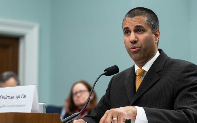 El presidente de la FCC, Ajit Pai, azotado por los legisladores por eludir las preguntas del Comité de Supervisión