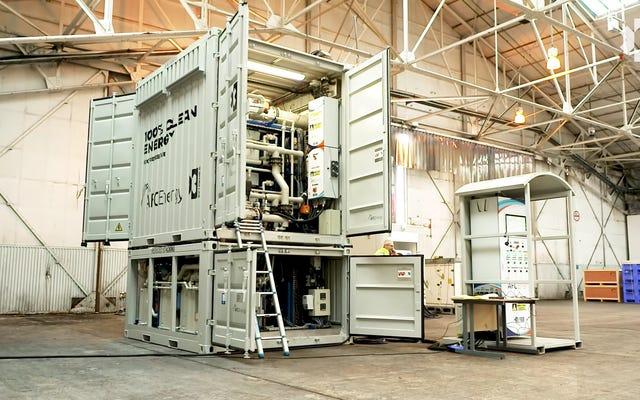 Inilah Generator Hidrogen Bebas Emisi Extreme E Akan Digunakan Untuk Memberdayakan Seri Balapannya