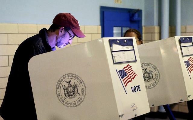 世論調査は、オバマ-トランプ-オバマ-トランプの有権者にとって、無限のタイムループで立ち往生していることを発見しました