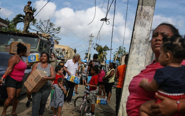 プエルトリコと米領バージン諸島の状況は依然として驚くほど悲惨なままです