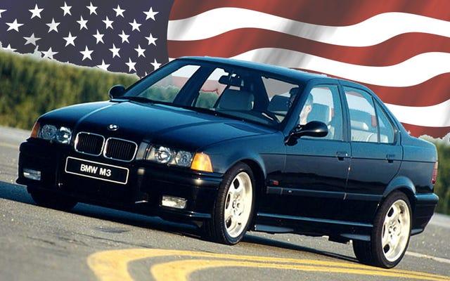 E36 बीएमडब्ल्यू M3 के साथ अमेरिका कैसे घिर गया