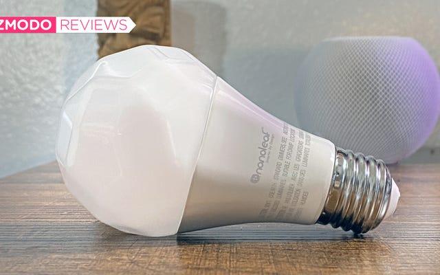 Nanoleafの新しいスマート電球はHomePodMiniの所有者に勝るものです