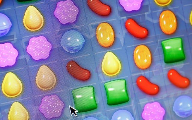 Candy Crushの開発者によると、920万人のユーザーが少なくとも1日3時間プレイしているが、まったく中毒性はない