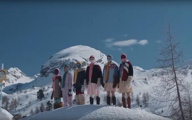 ミュウミュウの冬の滑走路は最悪の方法で病気になっています