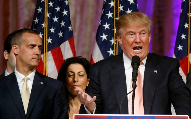 Trump dit que Michelle Fields de Breitbart l'a attrapé, suggère qu'elle ment sur des ecchymoses