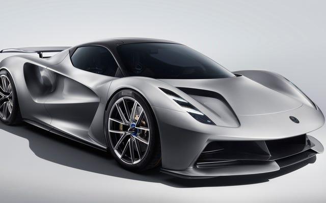 Lotus prévoit d'annuler le temps de 0-186 mi / h de la Bugatti Chiron en 12,4 secondes