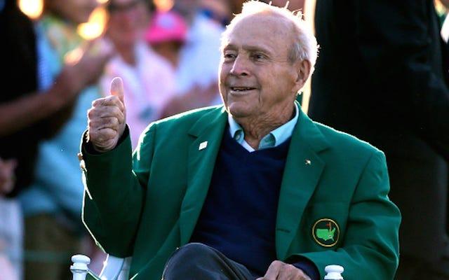 最愛のゴルファーアーノルドパーマーは87歳で亡くなりました