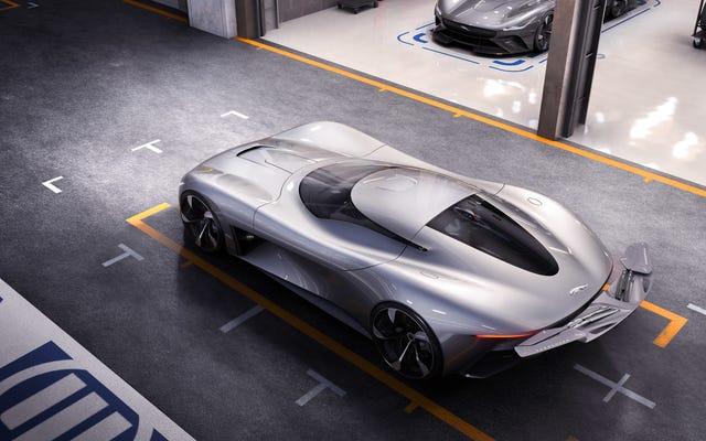 Le concept de voiture de sport entièrement électrique de Jaguar est uniquement destiné à Gran Turismo