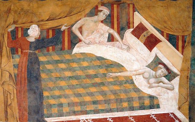 Вспомните, как суды по бракоразводным делам средневековой Англии придумывали и пытались измерить друг друга