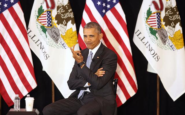 SCOTUSの候補者メリックガーランドの多様性に関するオバマ:「まあ、彼はスコキーから来た」