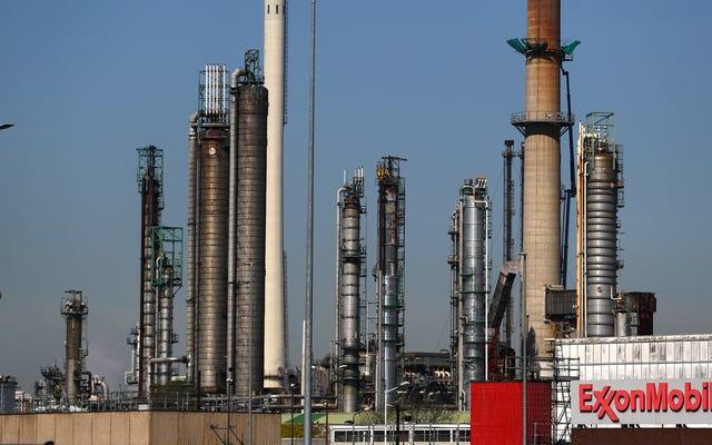 Wyciekający pięcioletni plan firmy Exxon to katastrofa klimatyczna