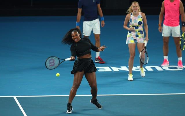 ウィンブルドンはキャンセルされましたが、もっと重要なことに、セレナのテニスの衣装は今どこで見られますか?