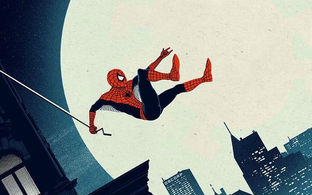 これらのスパイダーマンポスターは「アメージング」という言葉に忠実です