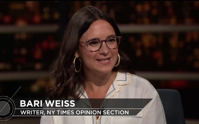 La ex escritora del New York Times, Bari Weiss, comienza un nuevo trabajo como la mujer más blanca de todos los tiempos. Dejame explicar