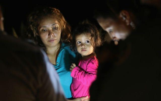 Lorsque le DHS prendra vos enfants, ils vous remettront ce morceau de papier