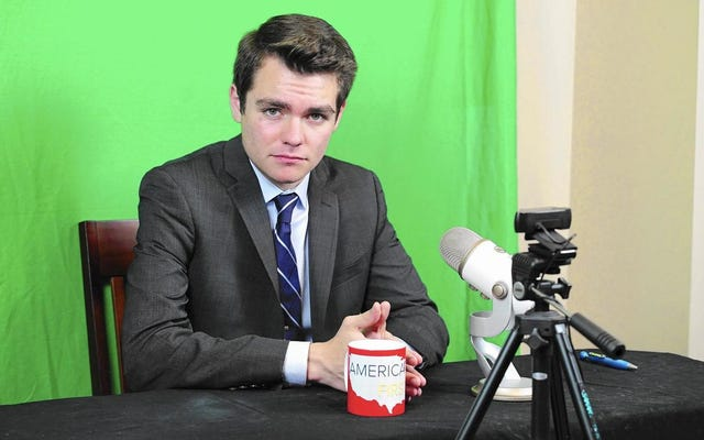 श्वेत वर्चस्ववादी किशोर कहते हैं, वह धमकी के कारण बोस्टन विश्वविद्यालय छोड़ रहा है