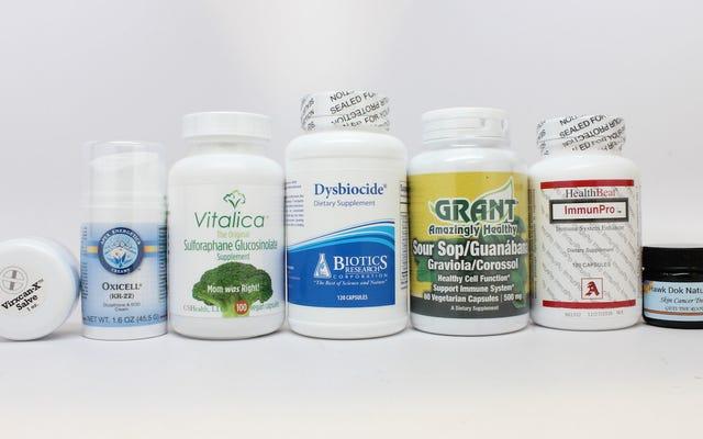 एफडीए ने नकली कैंसर उपचार बेचने वाली 14 कंपनियों पर नकेल कसी है