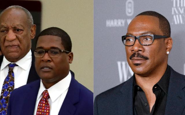 """Bill """"Nie możemy winić białych ludzi"""" Cosby oskarża Eddiego Murphy'ego o """"szaleństwo"""" w oświadczeniu dotyczącym żartu SNL"""