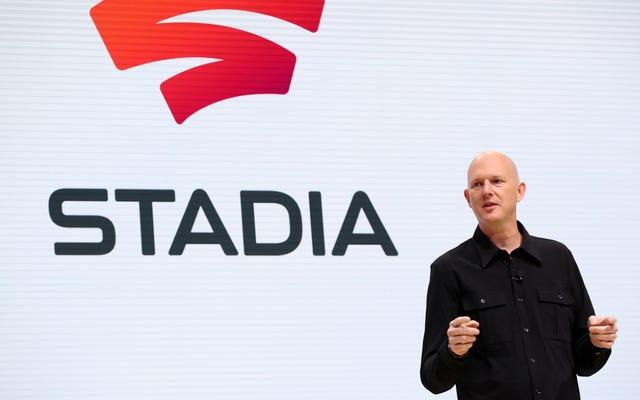 Stadia Leadershipは、開発スタジオをすべて解散するわずか1週間前に、「大きな進歩」を称賛しました