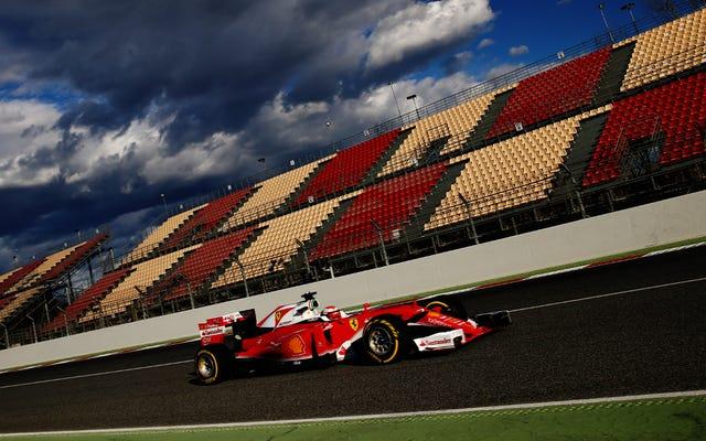 F1はチームにドライバーを放っておくように指示します、彼らは彼らが何をしているのかを知っているべきです