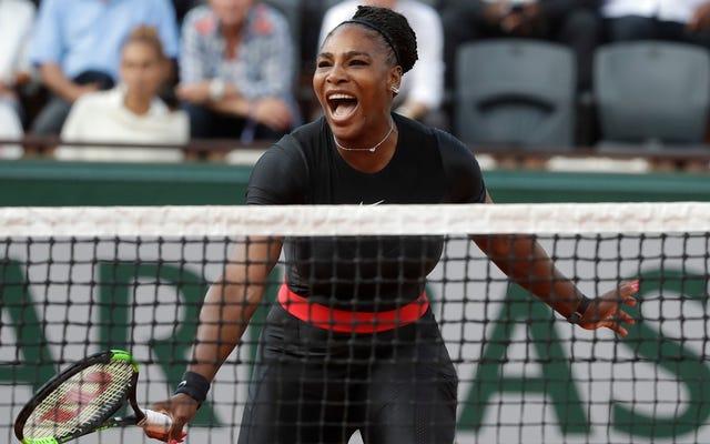 Bu Serena Williams'ın Devraldığına Gibi Görünüyor