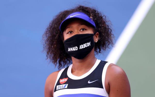Rodziny z Ahmaud Arbery, Trayvon Martin dziękują Naomi Osaka za wyśrodkowanie ich bliskich na US Open