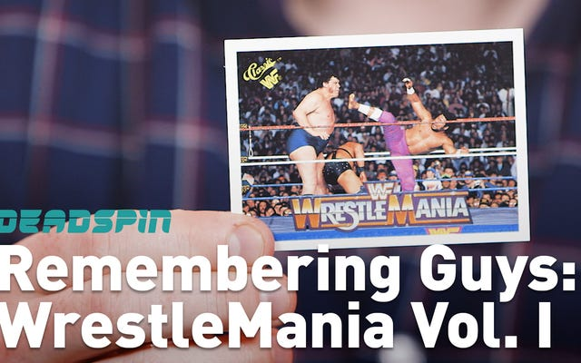 Let's Remember Some Guys: Pro Wrestling Edition