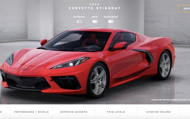 Configurons votre Corvette Stingray C8 2020