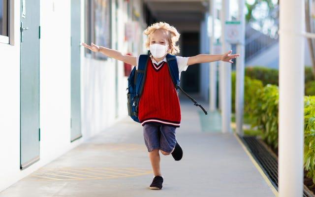 あなたは放課後あなたの子供を狂ったように消毒する必要はありません