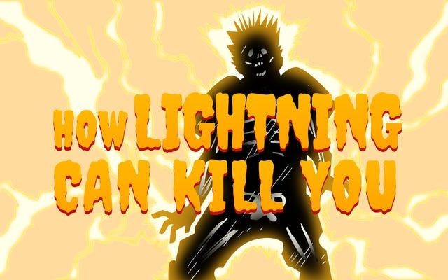 I molti modi in cui i fulmini possono ucciderti