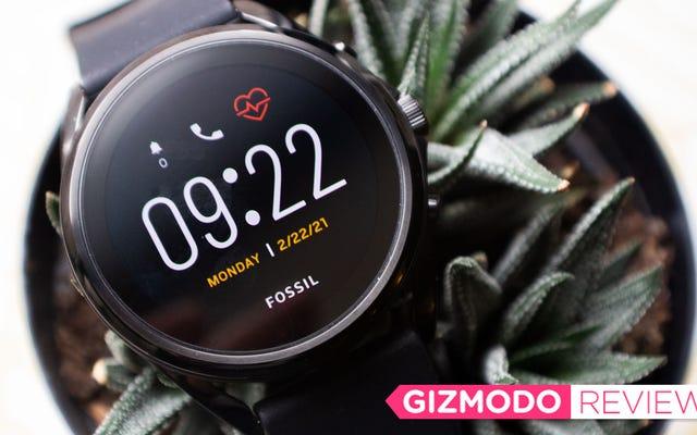 Đồng hồ thông minh di động đầu tiên của Fossil không thực hiện được lời hứa của mình