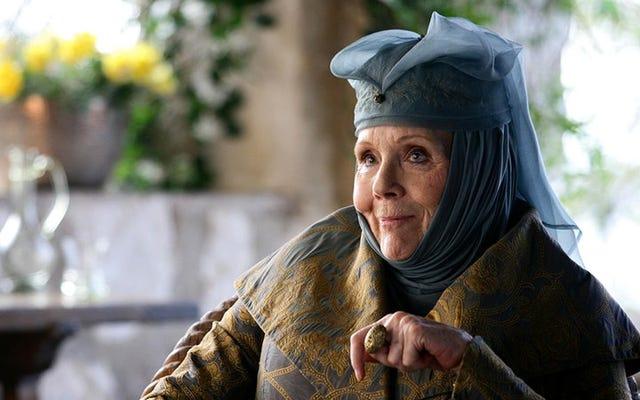 Diana Rigg sobre la Sra. Peel de Los Vengadores, Game Of Thrones y el emparejamiento de Vincent Price