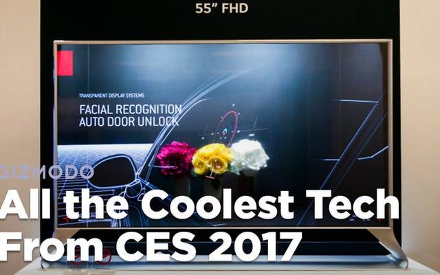 Tutta la tecnologia più cool del CES 2017