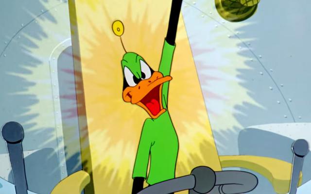 Star Wars était censé commencer avec le Looney Tune des `` Duck Dodgers ''
