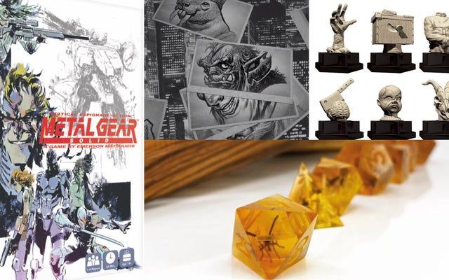 Metal Gear Solid มองเห็นความล่าช้าอีกครั้งและการแสวงหาเล็กน้อยรวบรวมความสยองขวัญในข่าวเกม