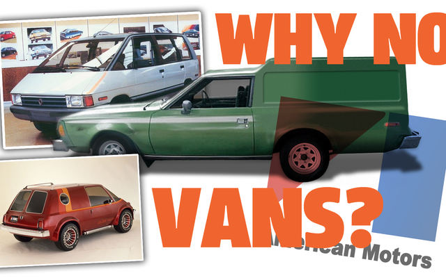 C'est bizarre AMC n'a jamais eu de vrai van mais c'est presque arrivé