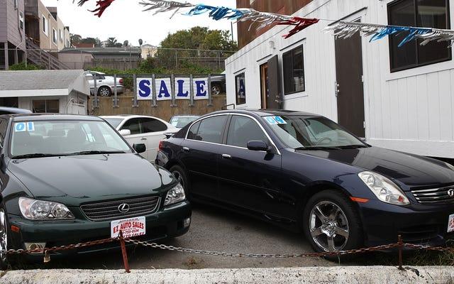 รายงาน: นักล็อบบี้ใช้กฎหมาย Copy-Paste เพื่อทำให้ถูกกฎหมายในการขายรถยนต์มือสองที่เรียกคืน