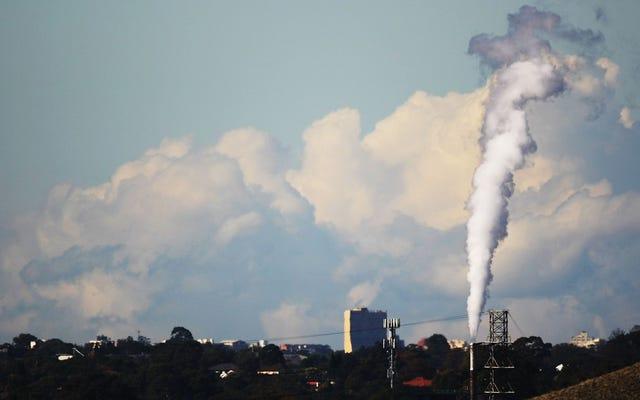 В Австралии зафиксирован самый низкий уровень выбросов парниковых газов