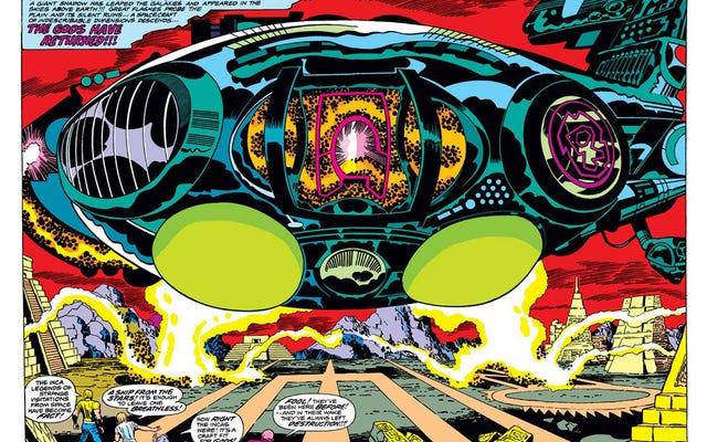 Thor:Ragnarokの明白な視界に隠された、次のMarvel映画であるEternalsへの参照があります