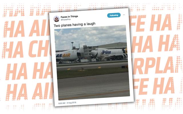 Cuéntanos qué diablos piensan estos dos aviones que es tan malditamente divertido