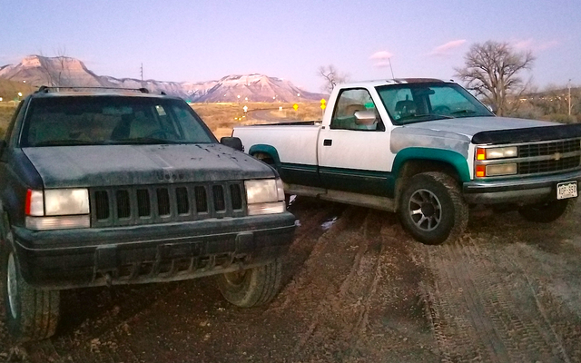 How A Stranger's Old Chevy Pickup Me Over The Snowy Rockies To The 'Holy Grail' Jeep Grand Cherokee