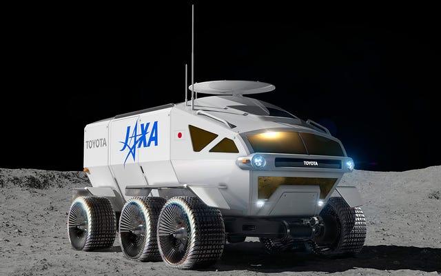 जापानी अंतरिक्ष एजेंसी 2029 तक चंद्रमा पर इस शानदार दबाव वाले रोवर को रखना चाहती है