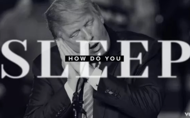 Мило, Барбра Стрейзанд только что сняла видео на свой трек Trump Diss