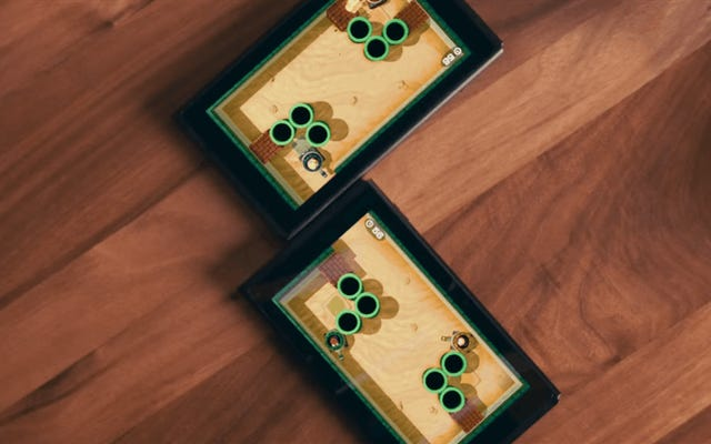 निन्टेंडो के दो-स्विच कॉम्बो एक नीट डिजिटल मैजिक ट्रिक है