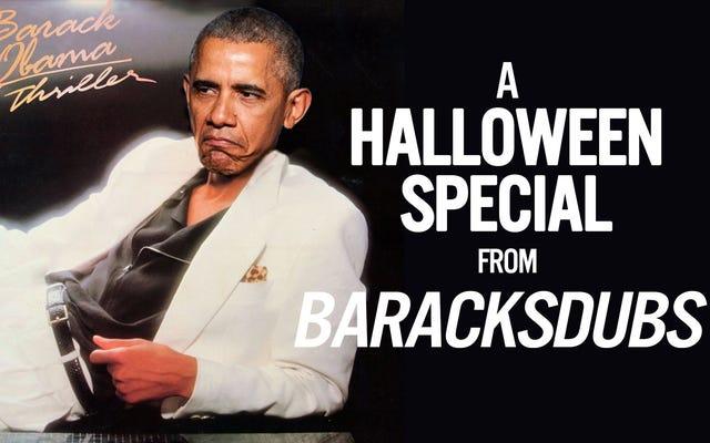Le président Obama chante un thriller juste à temps pour Halloween
