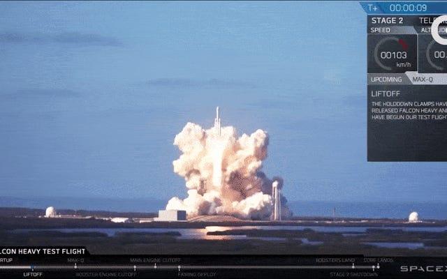 Falcon Heavy est désormais officiellement la fusée la plus puissante du monde