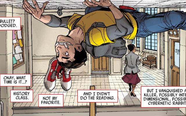 На самом деле освежает снова читать историю про Человека-паука-подростка