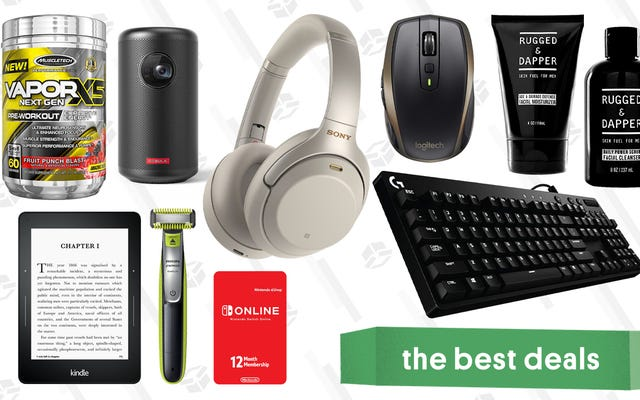 金曜日のお得な情報:Logitechアクセサリ、無料のNintendo Switch Online、PhilipsOneBladeなど