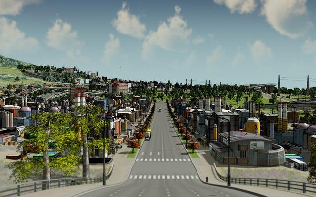 Cara Membuat Kota: Skylines Terlihat Seperti Perbatasan